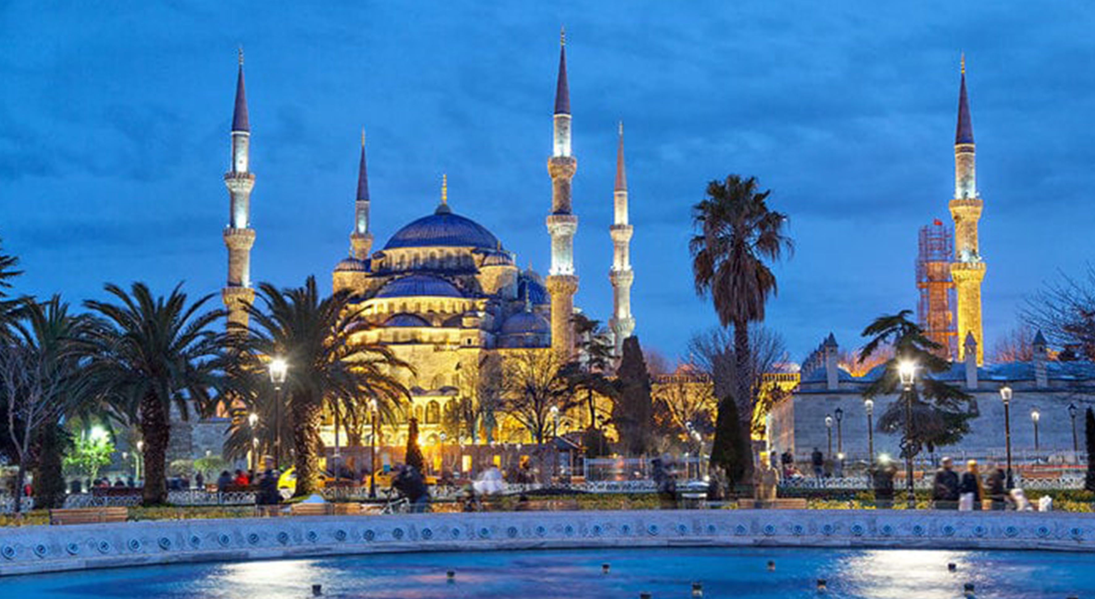 Blue Holy Mosque, Turkey